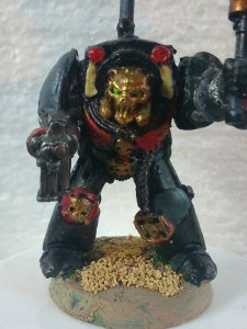 Chaplain J close-up