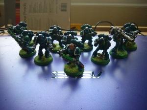 Alpha Legion tactical Squad Mead