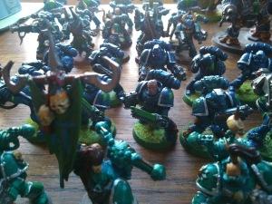 Alpha Legion Tactical Squads.