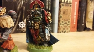 Middlehammer Sicarius used as Honour Guard